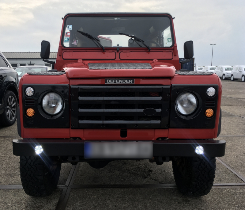 Import Land Rover Defender To Canada