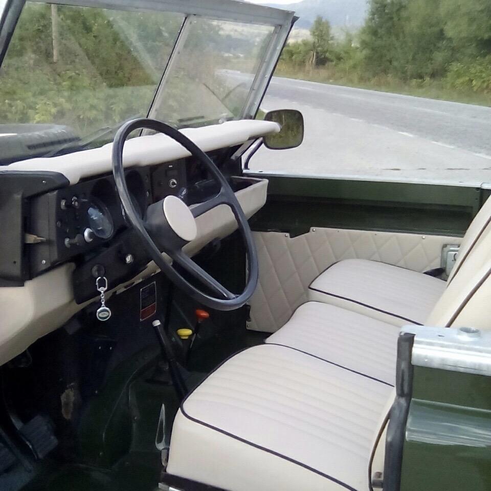 Restored Green 1976 Series III