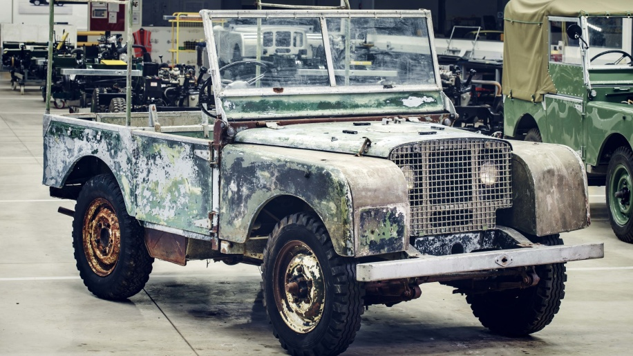 Lost and Found Original Land Rover - Import Land Rover Defender to